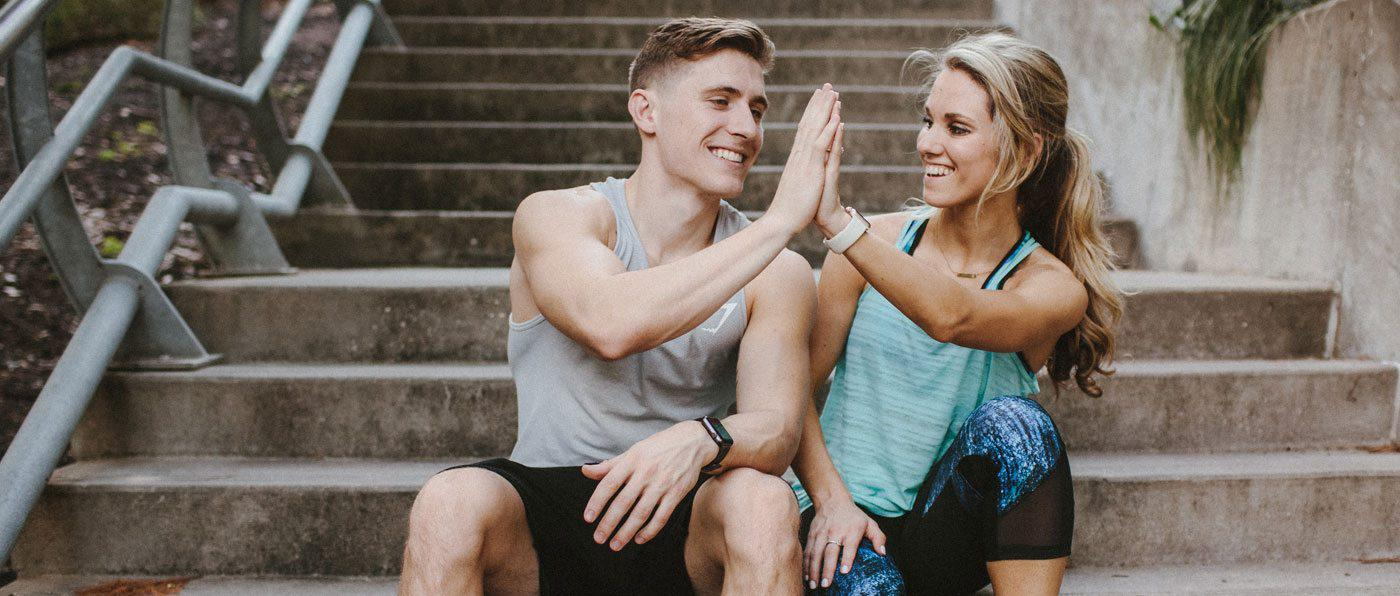 Fitness for Two: 5 Exercises From a Power Couple